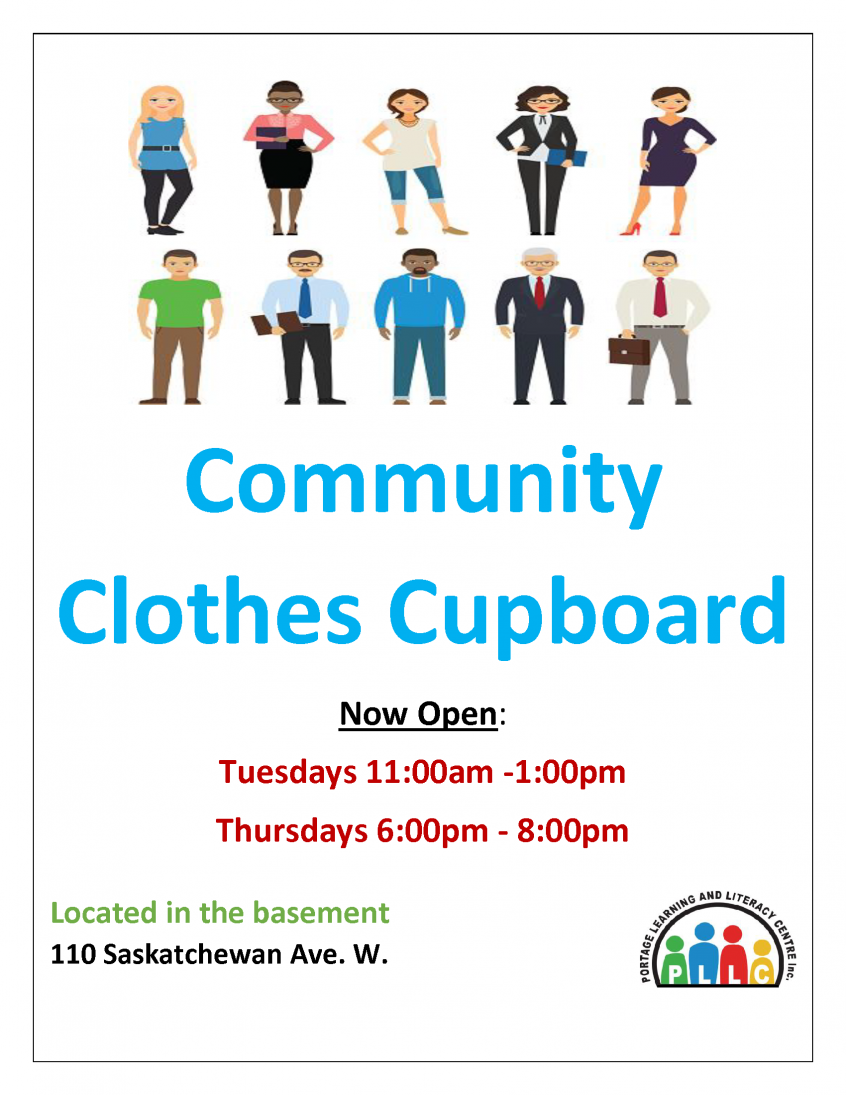 community-clothes-cupboard-poster