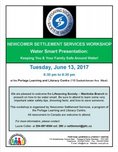 Newcomer Workshop - Water Safety @ Portage Learning and Literacy Centre | Portage la Prairie | Manitoba | Canada
