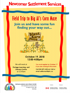 Field Trip to Big Al's Corn Maze