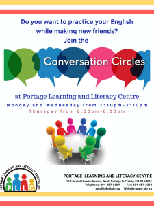 English Conversation Circle @ Portage Learning and Literacy Centre