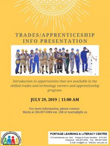 Info Session - Trades & Technology Occupations @ PLLC