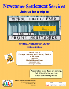 Trip to Nichol Honey Farm @ Portage Learning and Literacy Centre