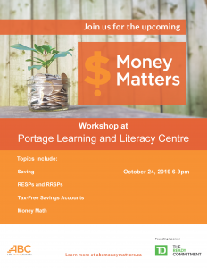 Newcomer Information Session - Money Matters @ PLLC