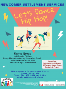 Youth Group - Learn to Dance Hip Hop @ Trinity United Church
