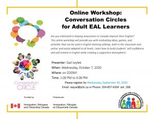Volunteer Webinar: How to Conduct Conversation Circles for Adult EAL Learners