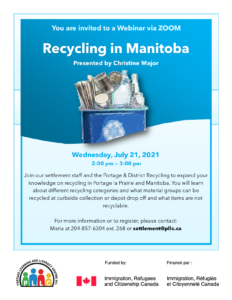 Recycling in Manitoba @ Portage Learning & Literacy Centre