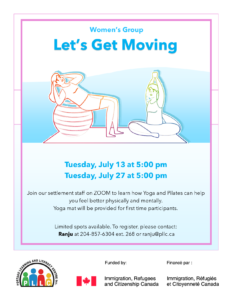 Women's Group: Let's Get Moving @ Portage Learning & Literacy Centre