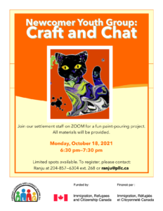 Newcomer Youth Group: Craft & Chat @ Portage Learning & Literacy Centre