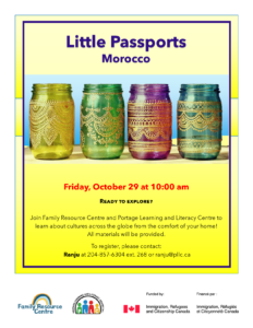 Little Passports: Morocco @ Portage Learning & Literacy Centre