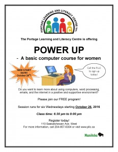 Power Up – basic computer training for women
