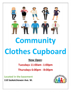 Community Clothes Cupboard – NOW OPEN!