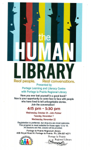 The Human Library series at the Portage Regional Library